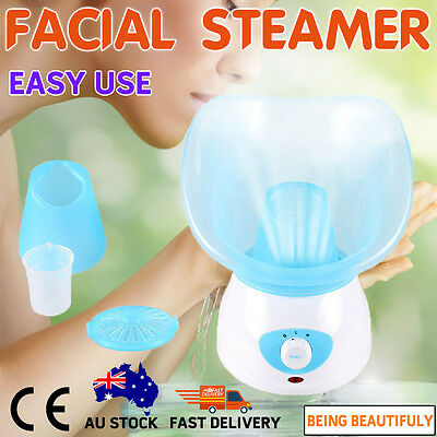 Facial Steamer Face Deep Pores Cleanser Mist Thermal Skin Sprayer Brand New Skin