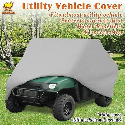 (Silver) - Strong Camel Polaris Ranger UTV Utility Vehicle Storage Cover Water
