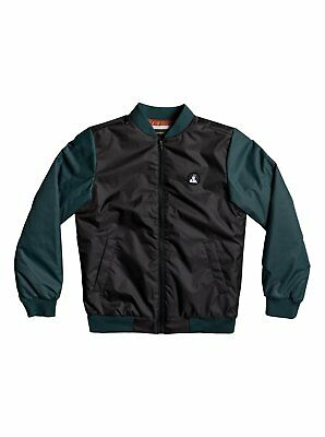 Quiksilver Batang Youth Bomber Jacket Black M - (Age 12) - Make an offer!