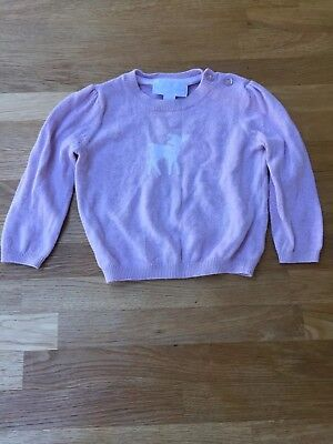 Baby Girl Lilac Jumper 6-9 Months Little white company