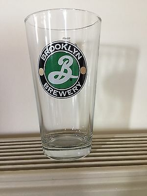 Brooklyn 2/3 Lager Glasses Brand New
