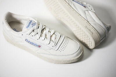 a42f790aaa9 REEBOK CLUB C 85 Vintage White Blue V69406 Us Womens Sz 5-11 ...
