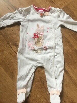 ted baker baby girl 3-6 Month Sleepsuit