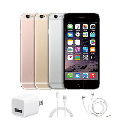 Apple iPhone 6s/6plus/6/5s/5 16GB/32GB/64GB/128GB Unlocked iOS GSM Smartphone A+