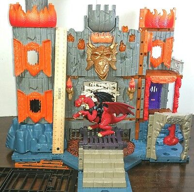 Imaginext Dragomont Fortress Castle toy Dragon Figure Incomplete Fisher Price