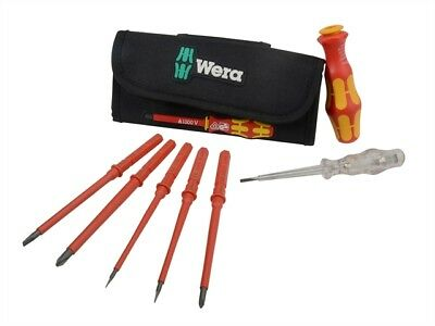 Wera Kraftform VDE Kompakt Interchangeable Screwdriver Set 7 Piece XMS17VDEINT