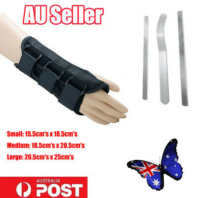 Wrist Splint Brace Protection Support Strap Carpel Tunnel Pain Relief CTS RSI DD