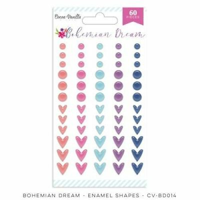 Cocoa Vanilla Studio - Bohemian Dream - Enamel Shapes (CV-BD014)