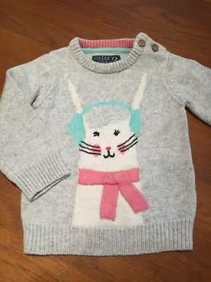 Girls Joules Knitted Jumper - Age 18-24 Months