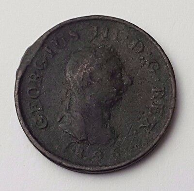 Dated : 1806 - Copper Coin - One Farthing - King George III - Great Britain