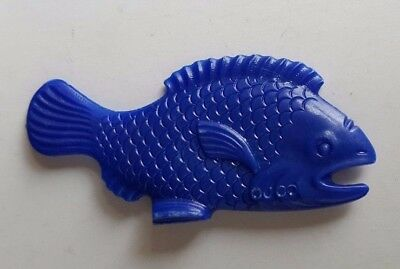 1956 Vintage Premium Cracker Jack Prize Toy Stand Up Fish