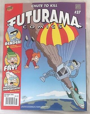 Futurama Comics Issue 37, free pull-out poster included.