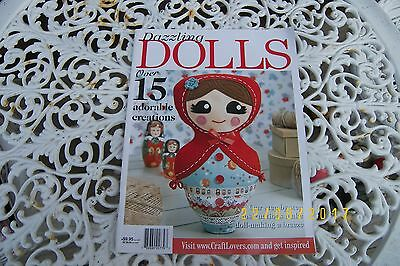 dazzling dolls magazine soft toys sewing fabric
