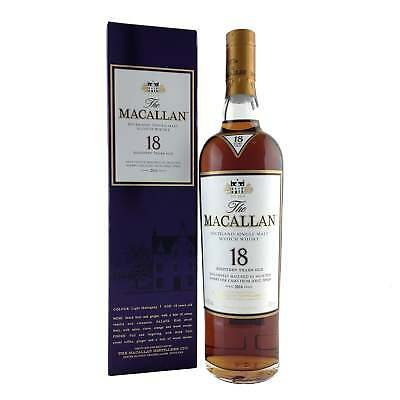 The Macallan 18 Year Old Sherry Oak 2016 Release 700ml 43%