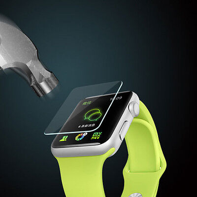 3D Cover Screen Curved For Apple Watch iWatch 38mm Protector Film Tempered Glass