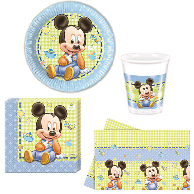 Disney Baby Mickey Mouse Kindergeburtstag Auswahl Micky Maus Party Dekoration