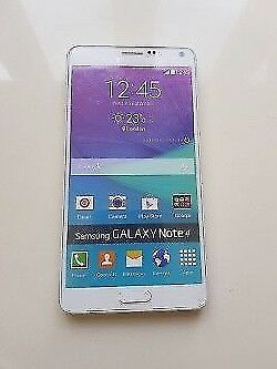 Dummy Samsung Galaxy Note 4 White