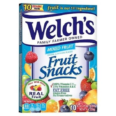 Welch's Fruit Snacks MIXED FRUIT 255g 9oz by Welches