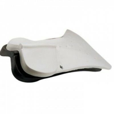 Roma Orig Riser Close Contact Saddle Pad White. Delivery is Free