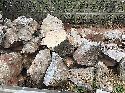 Garden Rockery Stones Various Sizes £1 For Small Stones £2 For Larger Stones