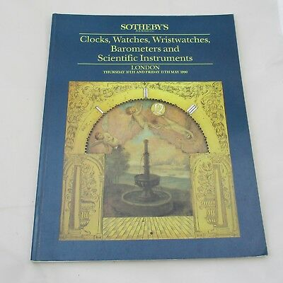 Sotheby's Auction Catalogue - Clocks, Watches, Wristwatches...1990