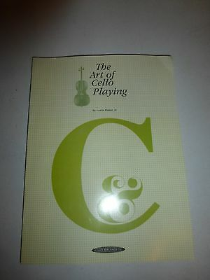 The Art of Cello Playing by Louis Potter Paperback Book (English)PB 1980 B259