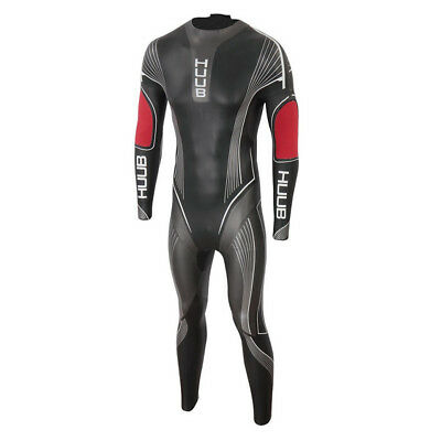 Huub Albacore 3:5 Wetsuit Black/Red