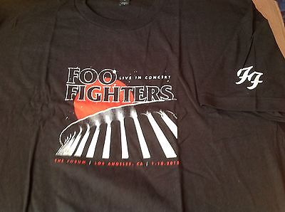 Foo Fighters Dave Grohl All Star Birthday T Shirt Forum Los Angeles Cali Xl