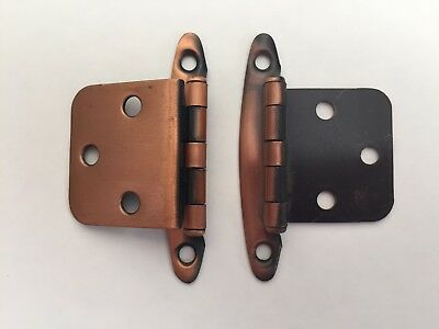 Vintage Cabinet Hardware Cupboard Hinge set of 2