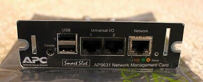APC AP9631 Network interface card NIC for UPS - Fully reset- 12m RTB