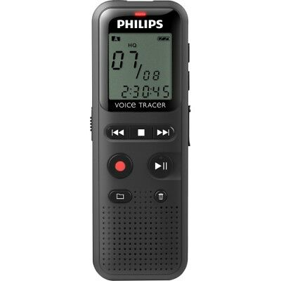 NEW Philips DVT1150 Voice Tracer Audio Recorder (DVT1150) 1.3-in 4GB Digital VT