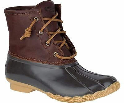 Sperry Top-Sider Women's Saltwater Core Tan/Brown Duck Boots Sizes 6.5-11 M W