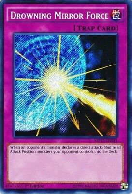 Drowning Mirror Force (MP17-EN041) - Secret Rare - 1st Edition