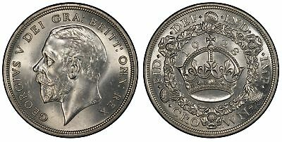 GREAT BRITAIN George V 1928 AR Crown PCGS MS64 KM836 SCBC 4036