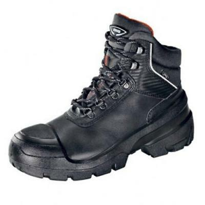 aacfbe1f050 UVEX QUATRO S3 SRC Safety Work Boots Steel Toe & Mid-Sole, Black, Size 5-13