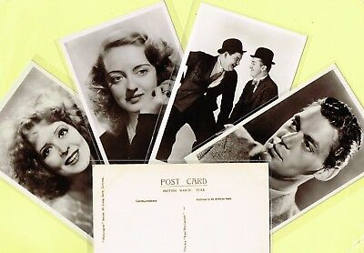PICTUREGOER - MAIN Series 1930s Film Star Postcards #664 to #705 [Cinema/Movie]