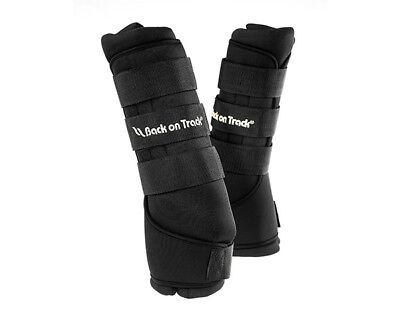 Pair of Back on Track Therapeutic Stable/Trailer Quick Leg Wraps
