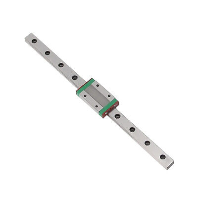 Linear Sliding Guide Block 250mm 300mm 400mm 500mm 550mm CNC 3D Printer