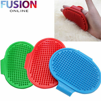 Rubber Dog Cat Pet Grooming Detangling Brush Massage Pad For Long & Short Hair