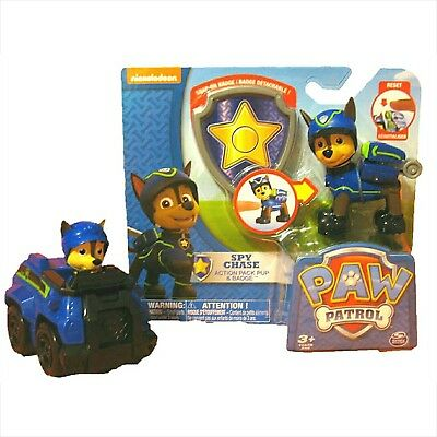 Nickelodeon Paw Patrol Super Spy Chase Bundle: 1 Spy Chase Action Pack Figure