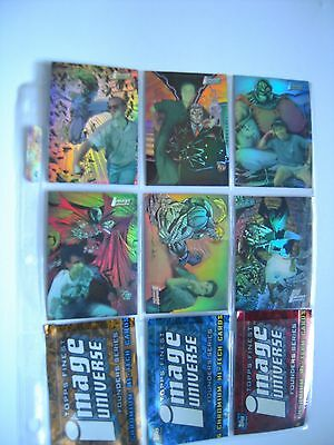 Image Universe   Trading Cards Subset  Holochrome   1 A 6 Complet 1995 Tbe