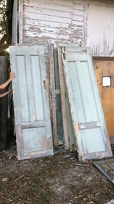 Antique, 19th Century, Church Doors. With Locks & Latches. Listing Is For 1 Door