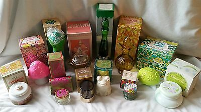 Lot of 12 RETRO/VINTAGE Avon Products & Glass Bottles