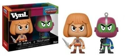 Masters Of The Universe -He-Man / Trap Jaw 2pk - Funko Vynl (Toy Used Very Good)