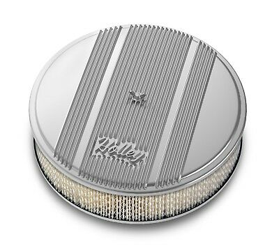 Holley Performance 120-150 Round Finned Air Cleaner