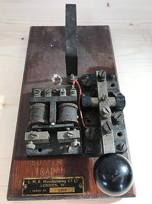 L.m.k  London Buzzer Sig Training Morse Key