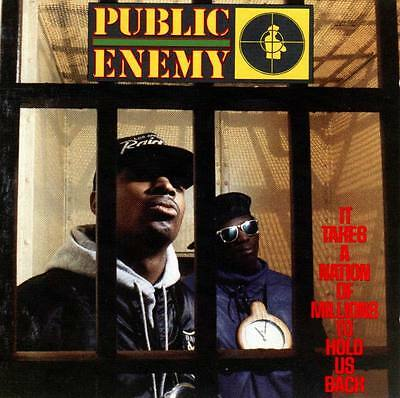 Public Enemy - It Takes A Nation Of Millions To Hold Us Back Vinyl Lp New Sealed