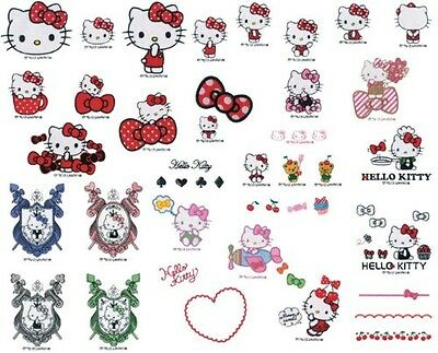 Hello Kitty Collection Brother sewing machine embroidery card ECD098 F/S Japan