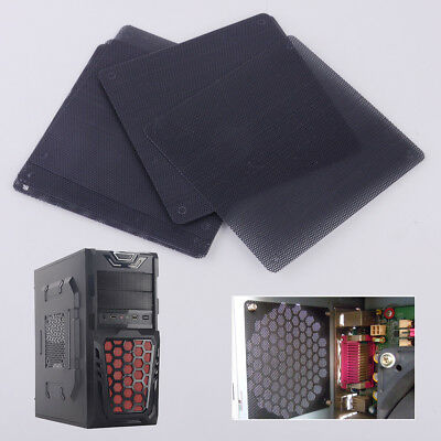 10pcs 120mm Computer PC Dustproof Cooler Fan Case Cover Dust Filter Mesh Grille