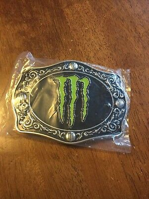 Monster Energy Belt Buckle